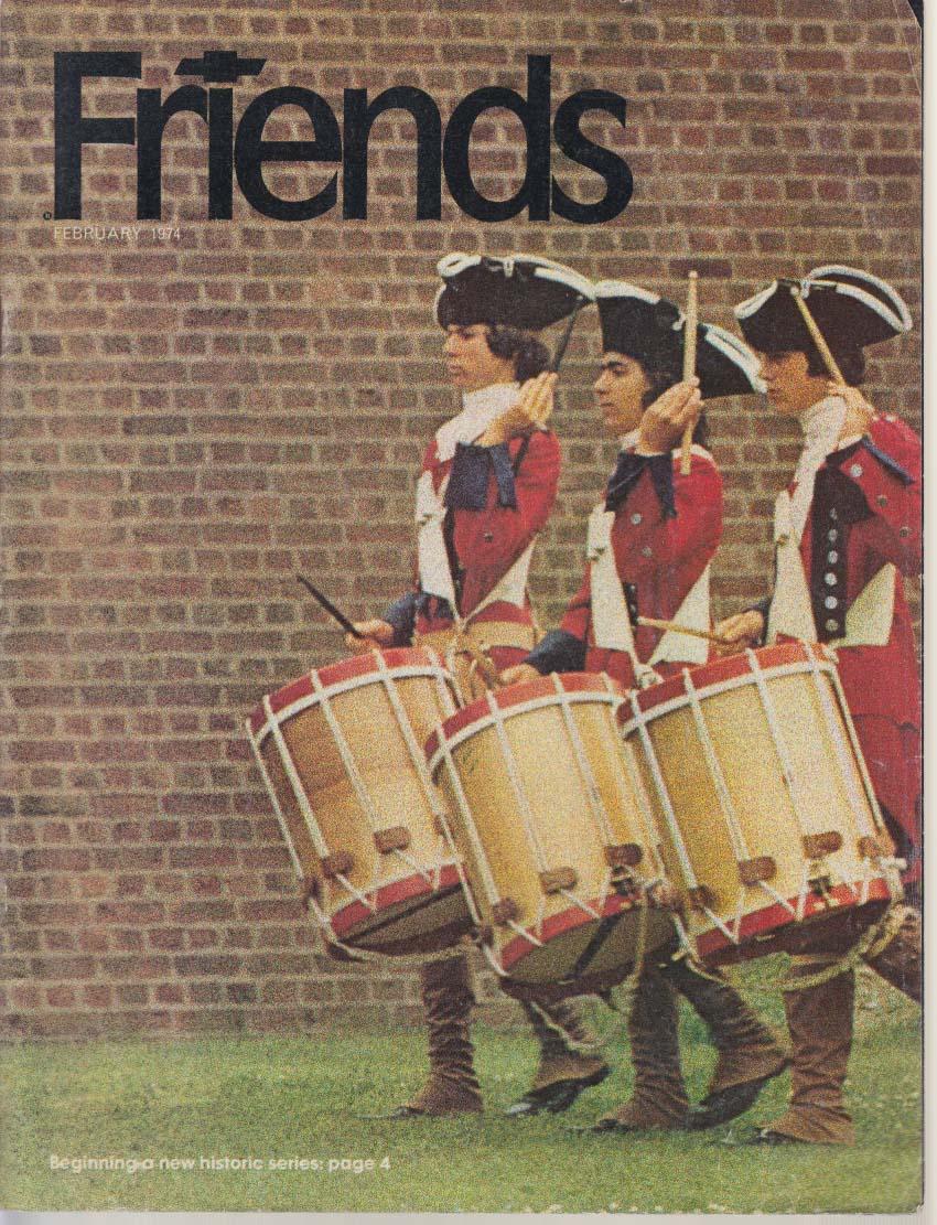 Chevrolet FRIENDS 2 1974 Caprice; French-Indian War Re-enactors; NM mustangs