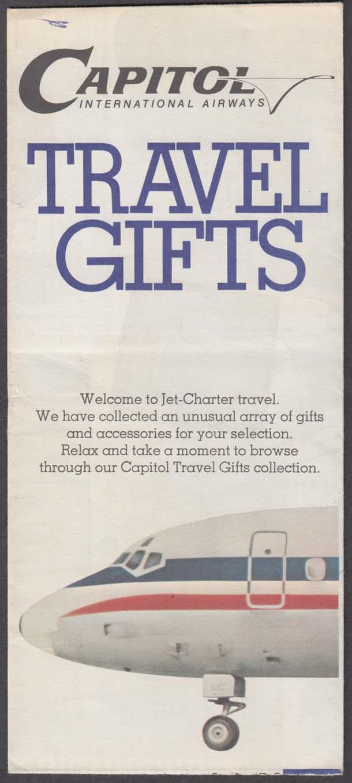 Capitol airways airline travel gifts folder order form 1960s altavistaventures Choice Image