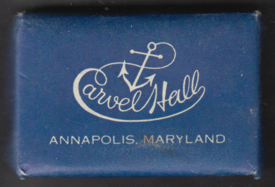 Carvel Hall Hotel Annapolis MD Guest bar of Camay soap
