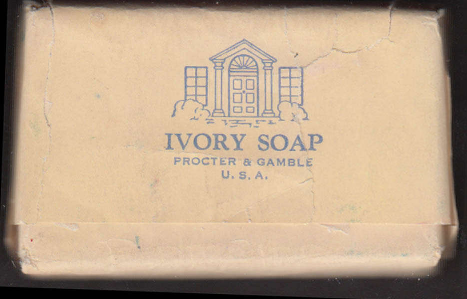 University Club of Chicago guest bar of Ivory Soap
