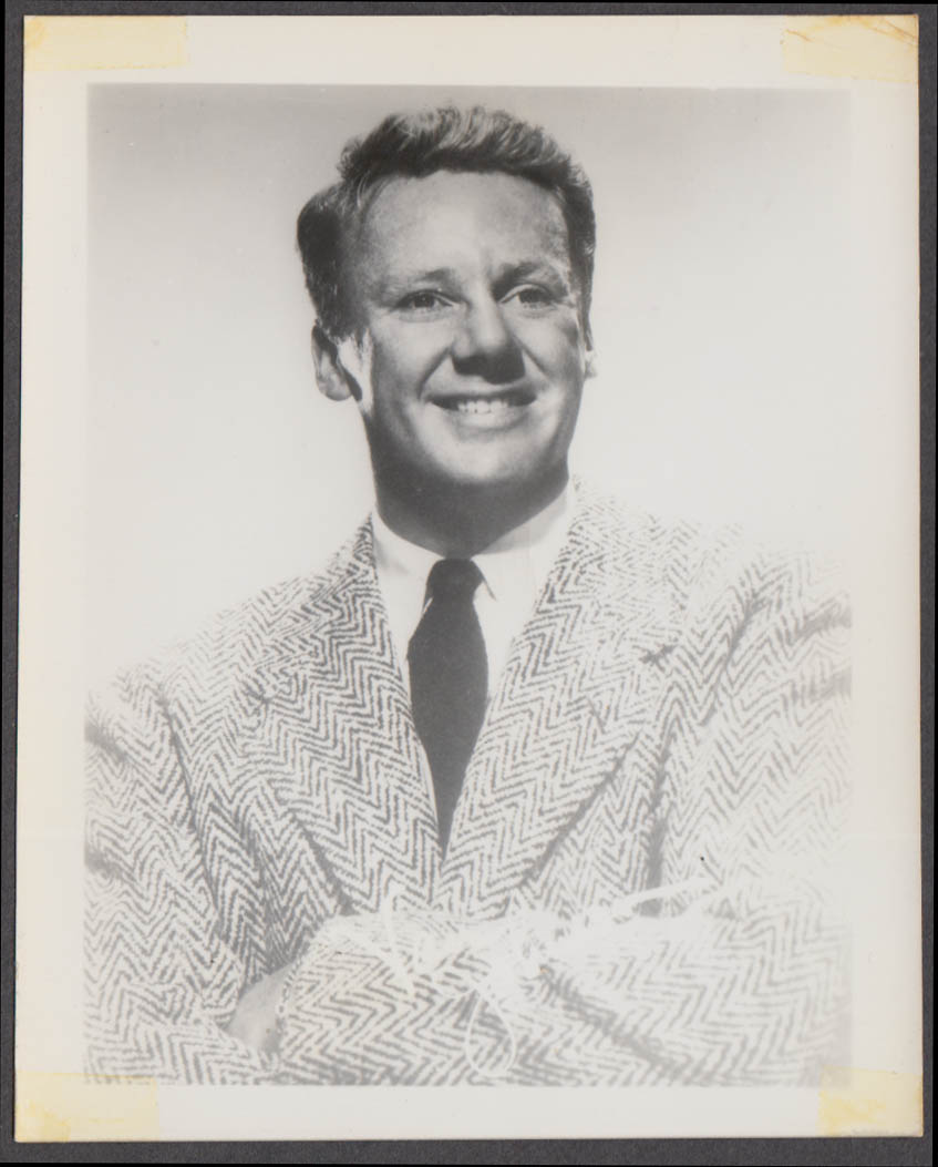 Actor Van Johnson fan club snapshot 1950s