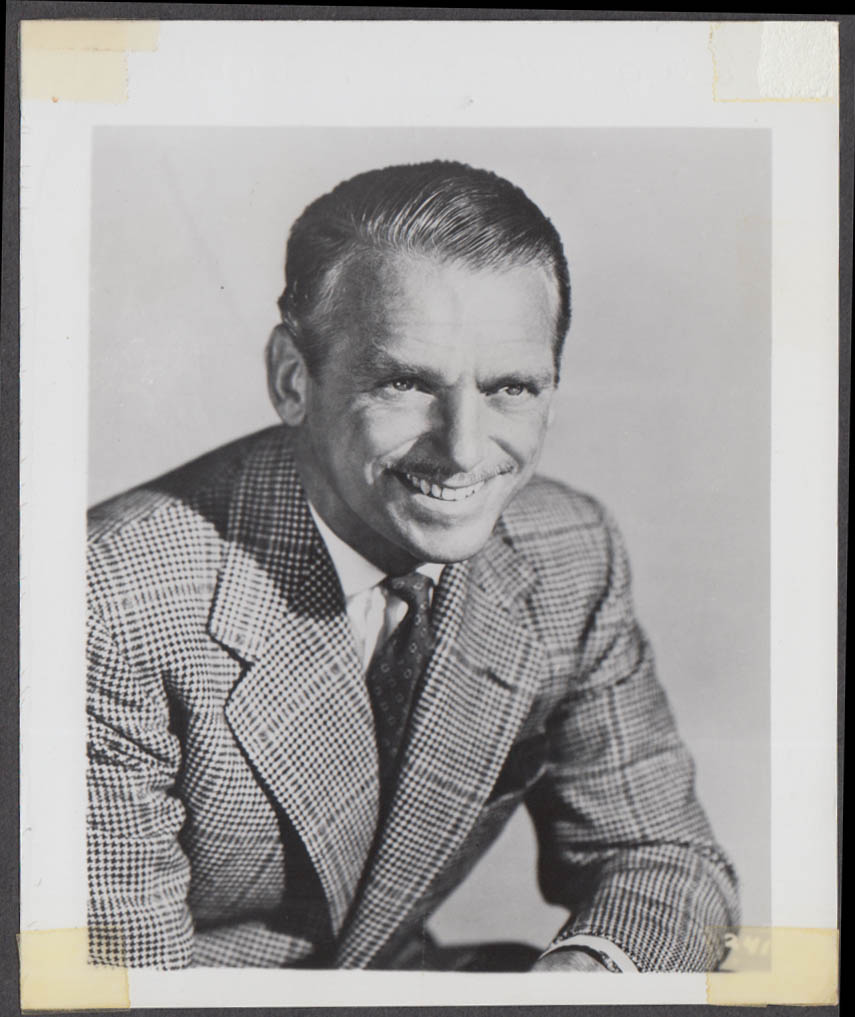 Actor Douglas Fairbanks Jr fan club snapshot 1950s