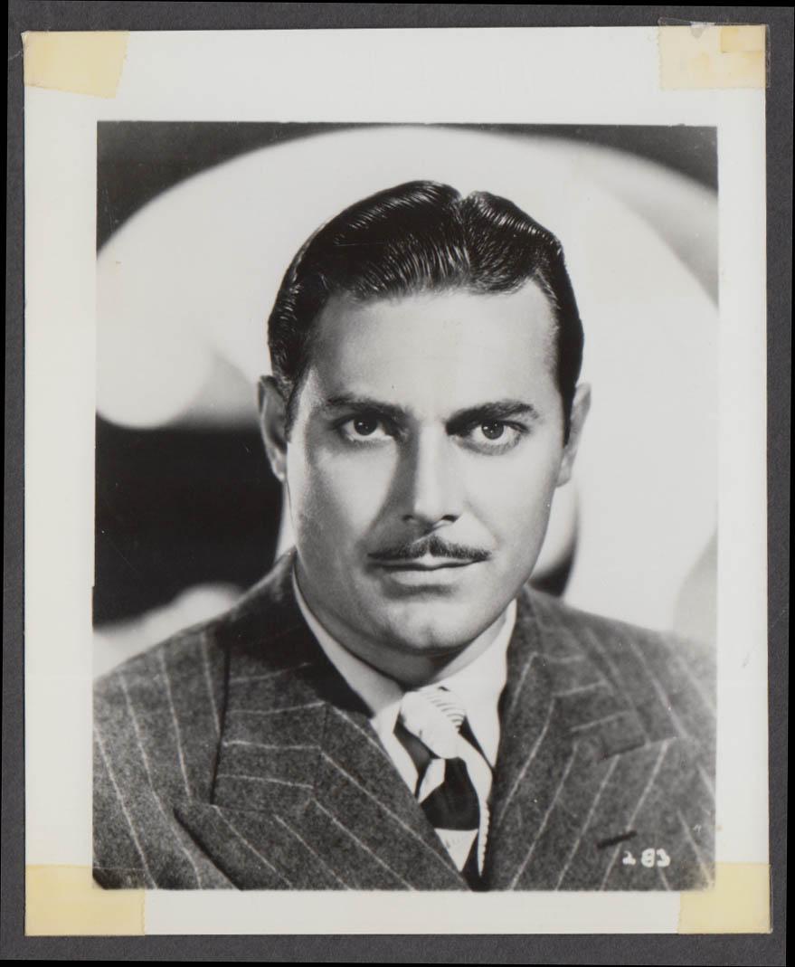 Actor Jon Hall fan club snapshot 1950s