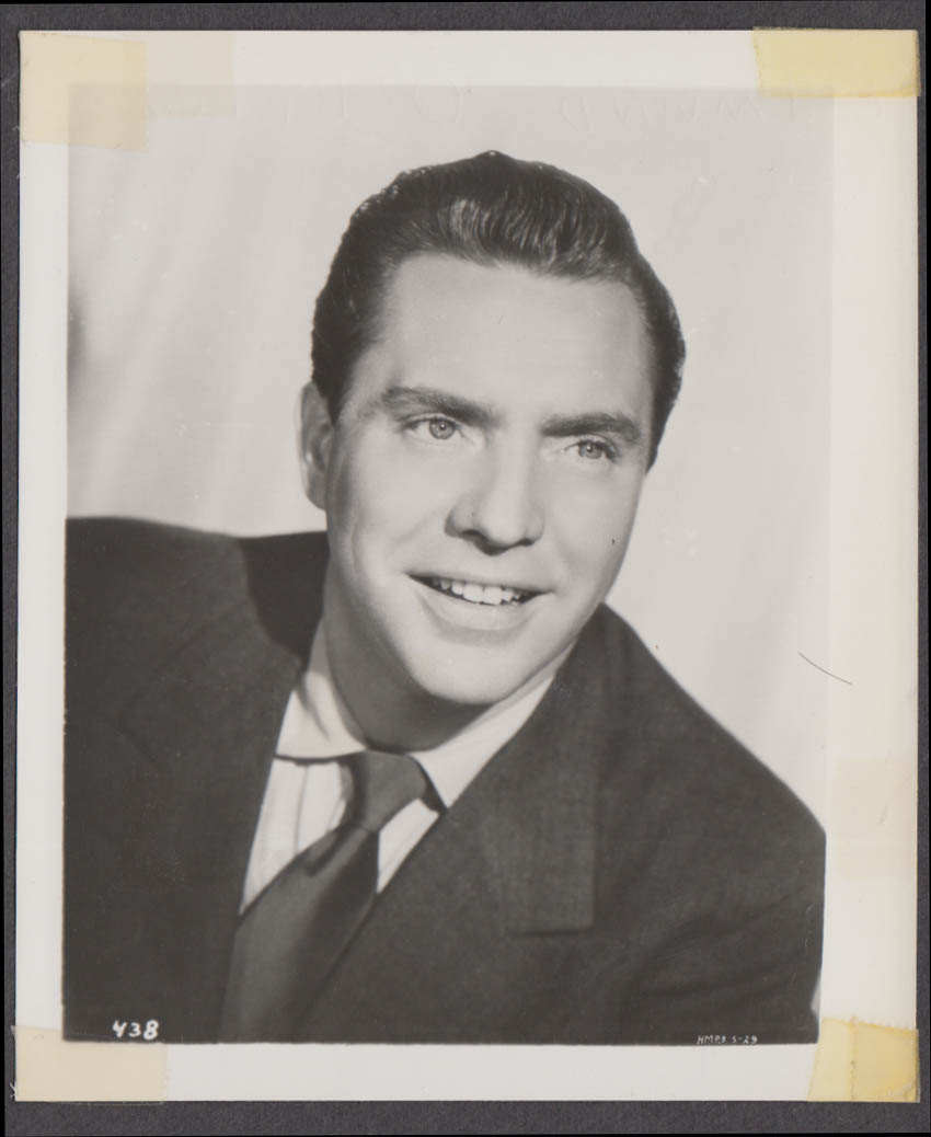 Actor Edmond O'Brien fan club snapshot 1950s