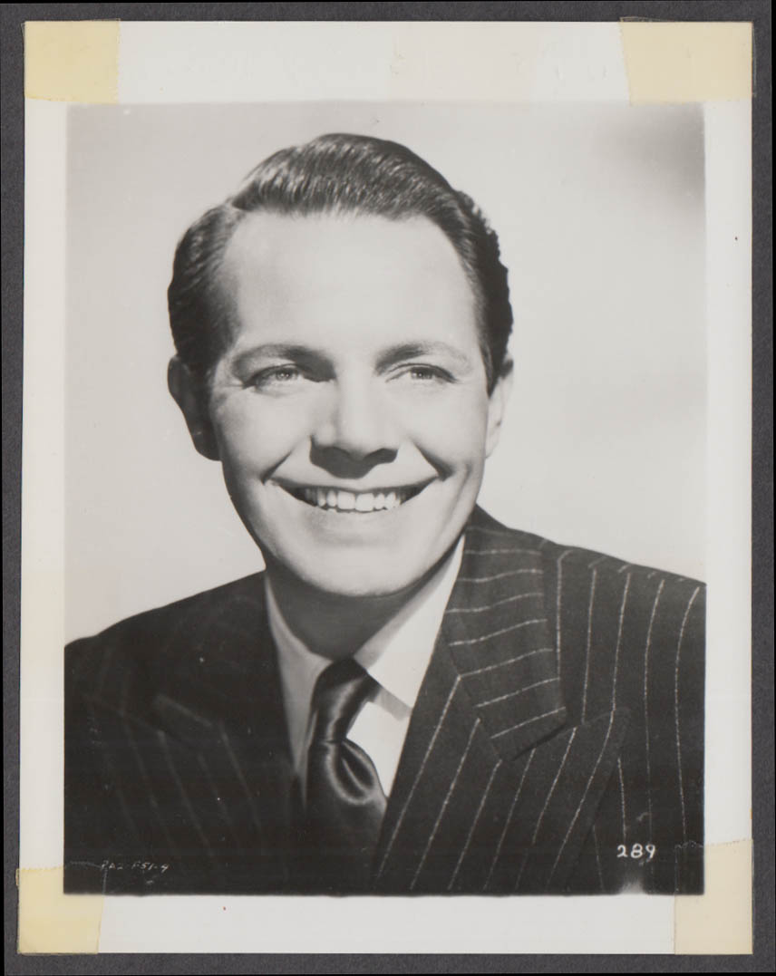 Actor Louis Hayward fan club snapshot 1950s
