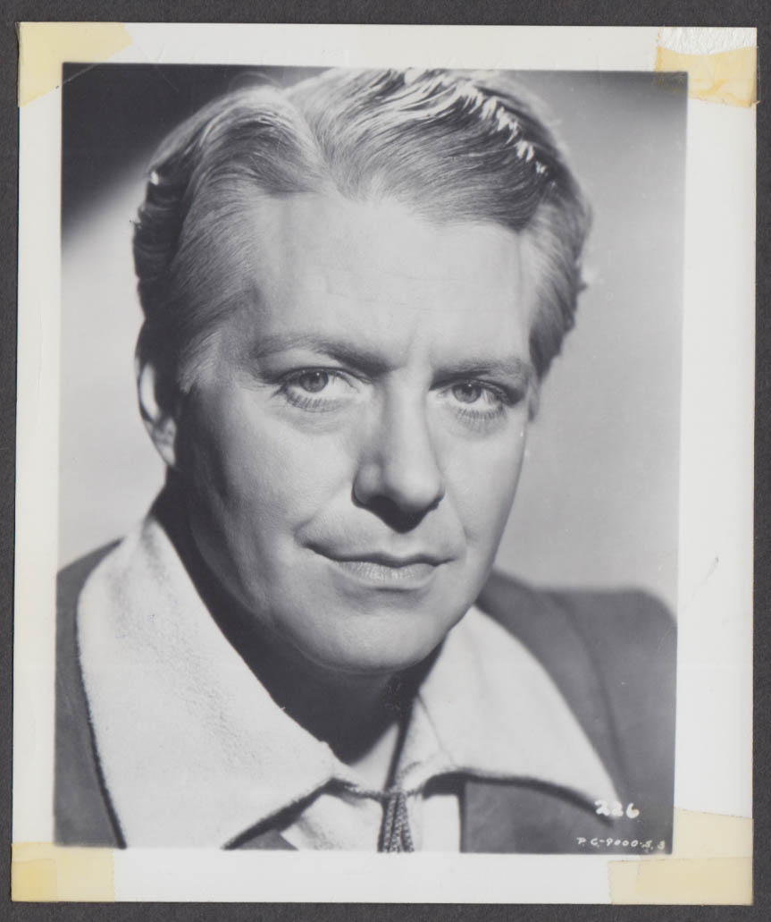 Actor & Singer Nelson Eddy fan club snapshot 1950s