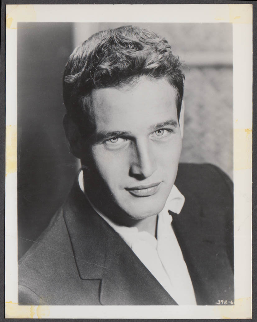 Actor & philanthopist Paul Newman fan club snapshot 1950s