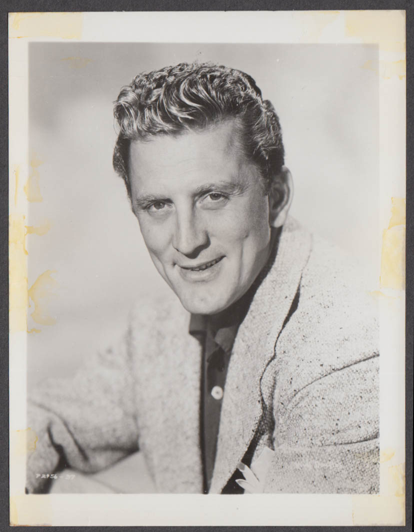 Actor Kirk Douglas fan club snapshot 1950s