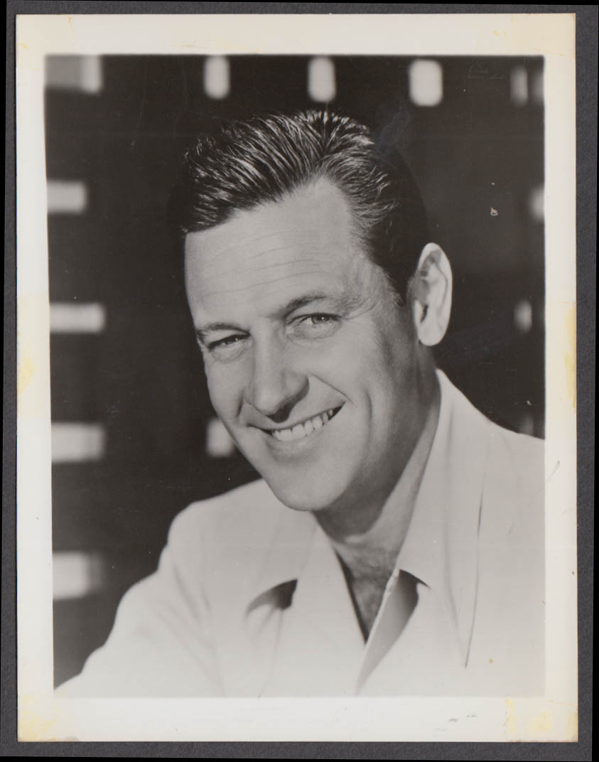 Actor William Holden fan club snapshot 1950s