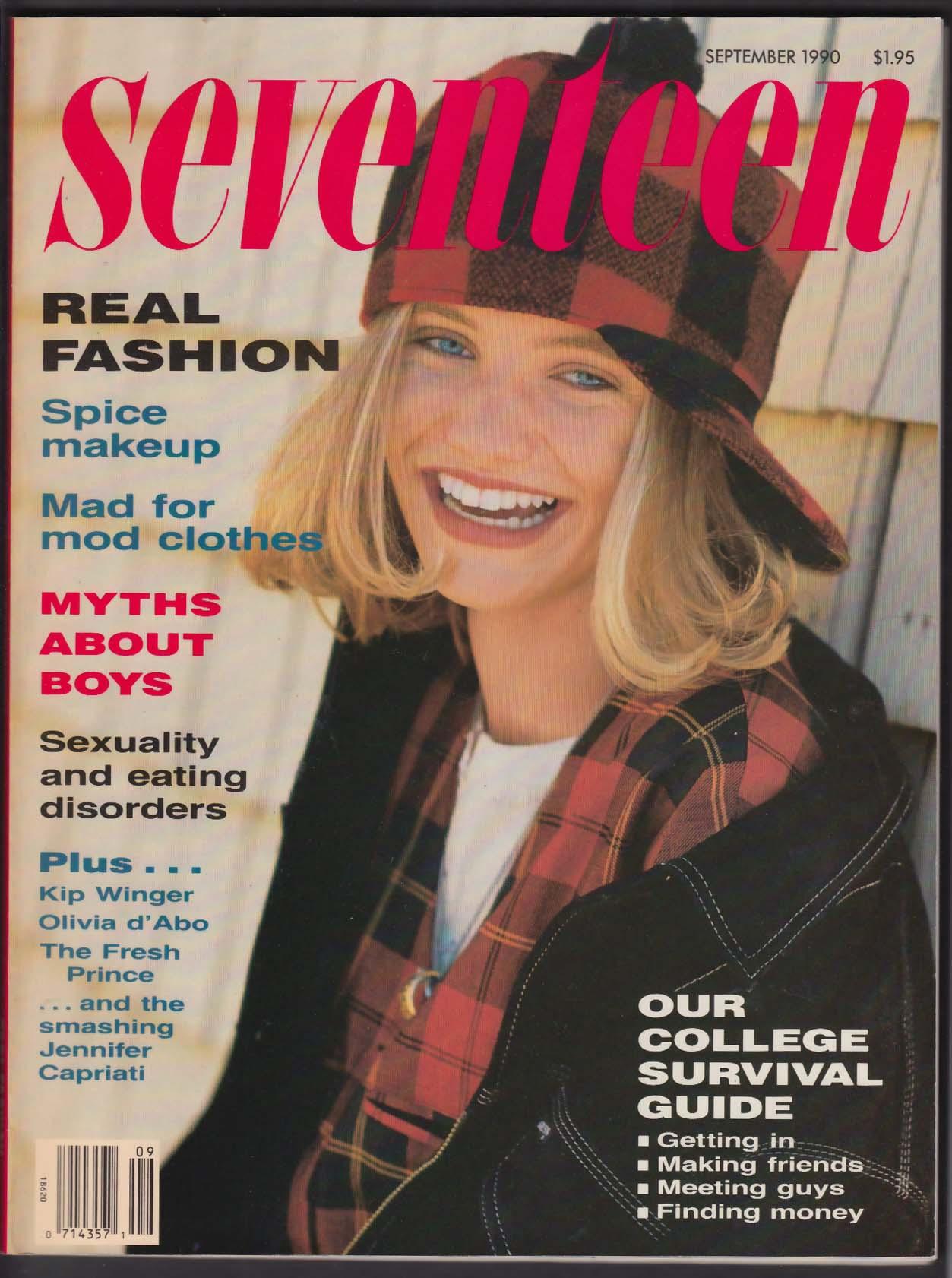 SEVENTEEN Cameron Diaz Will Smith Pauly Shore Jennifer Capriati 9 1990