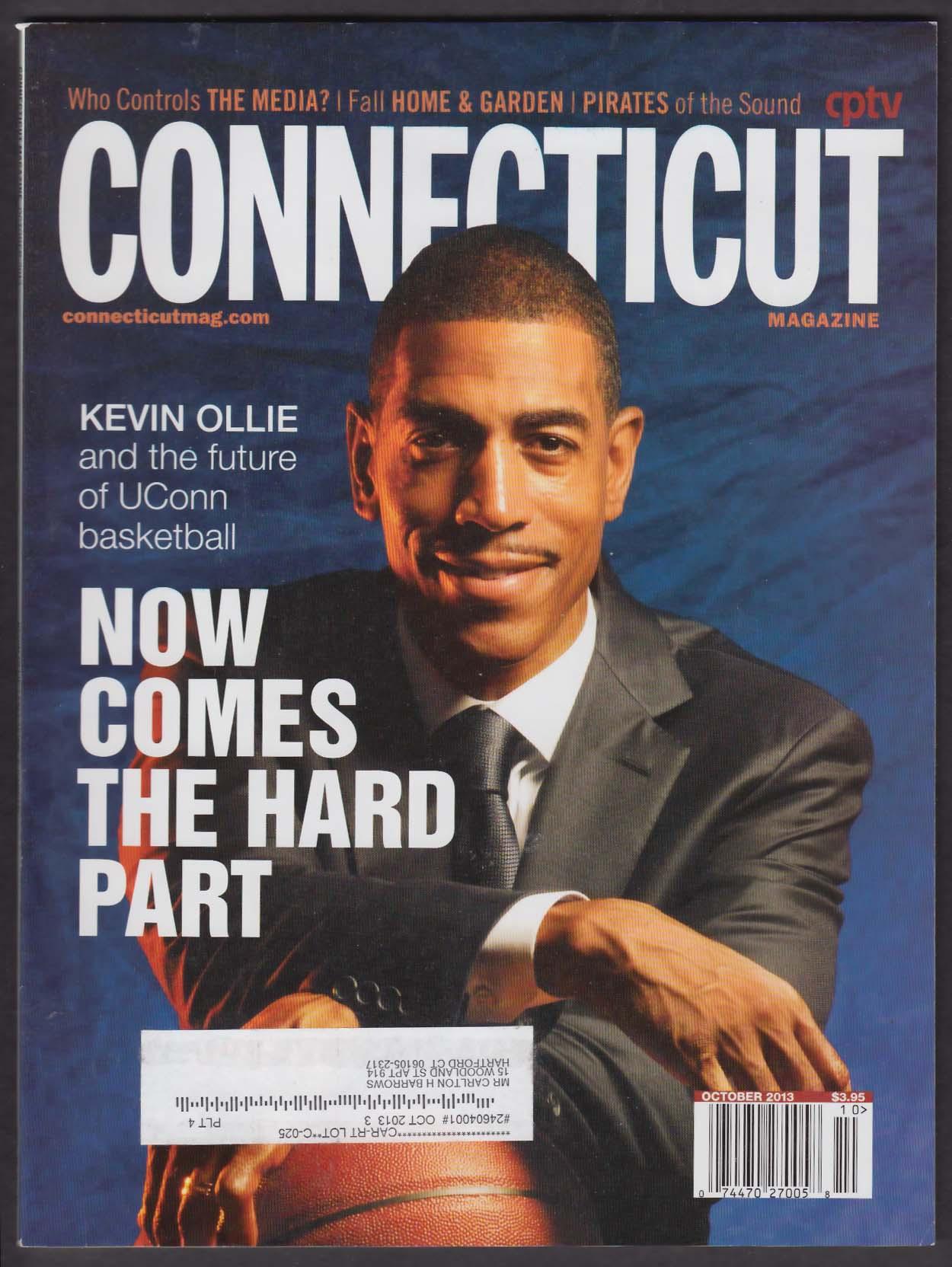 CONNECTICUT Kevin Ollie Jason Alexander Rhonda Vincent Obamacare 10 2013