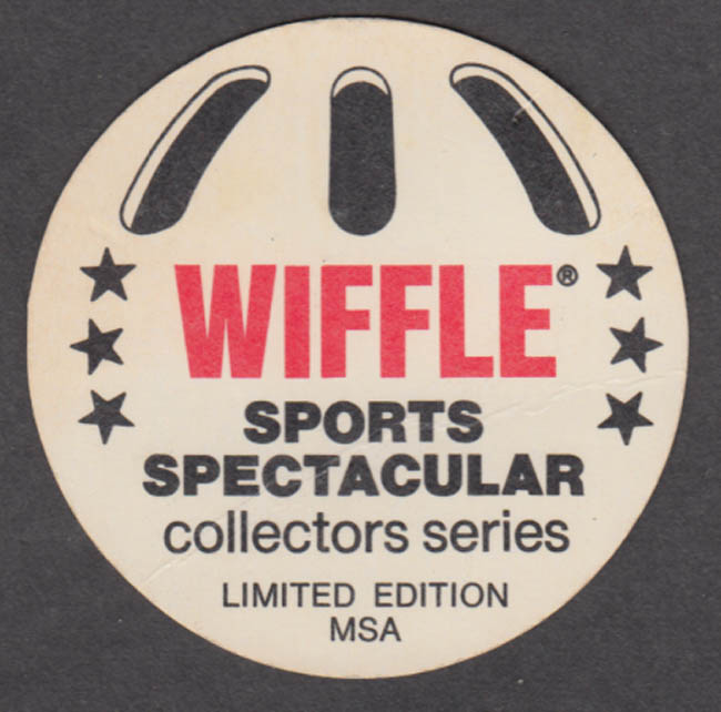 Philadelphia Philles Tug McGraw Wiffle Ball trading card 1977