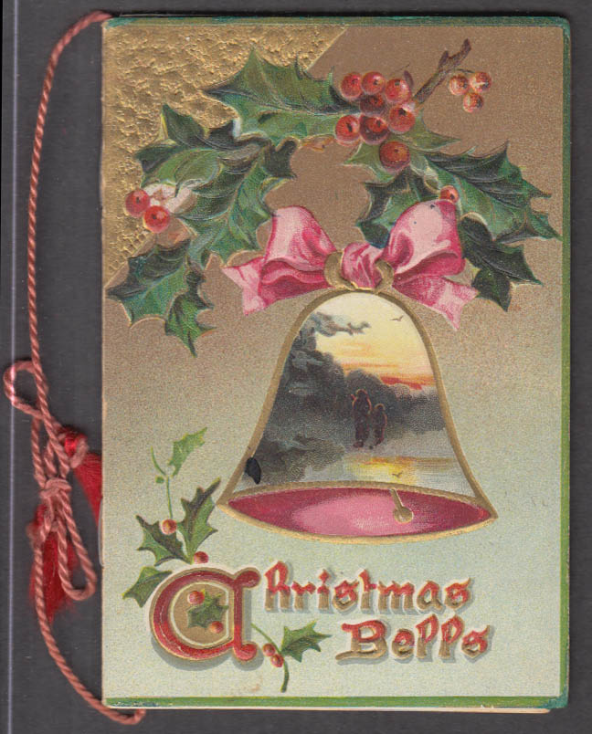 Christmas Bells gift booklet Raphael Tuck & Sons 1909