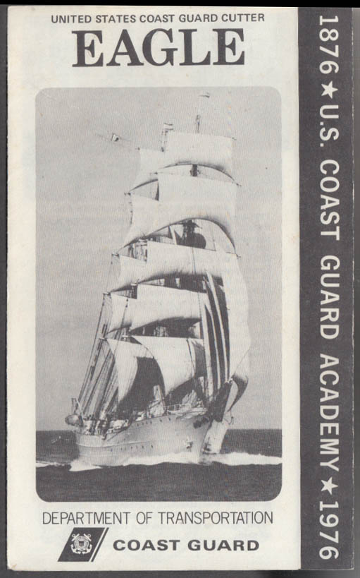 United States Coast Guard Cutter Eagle visitor folder 1976