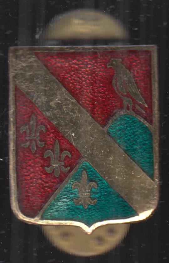 US Army 113th Field Artillery Regiment unit crest insignia