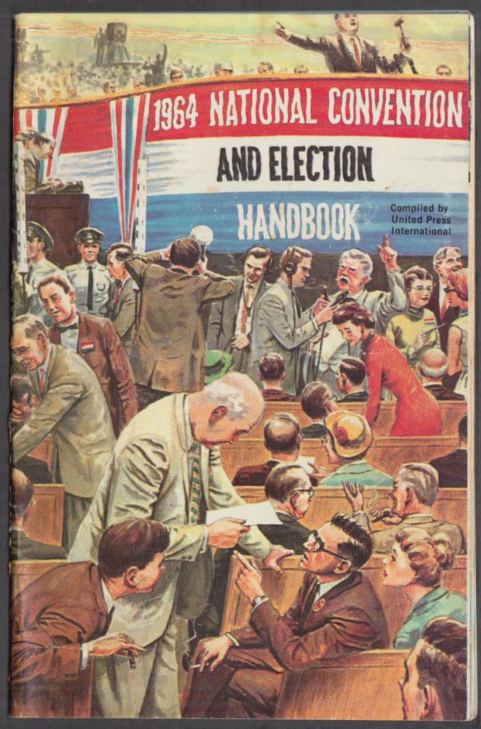UPI 1964 National Convention & Election Handbook LBJ vs Goldwater