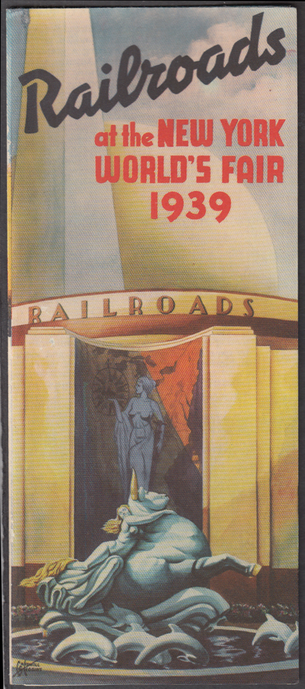 Image for Railroads at the New York World's Fair 1939 exhibit folder
