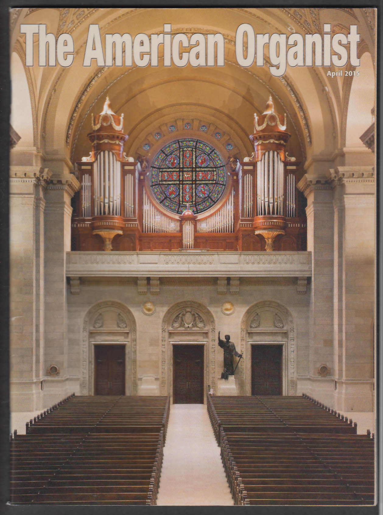 AMERICAN ORGANIST Charles Dodsley Walker Dan O'Connor + 4 2015