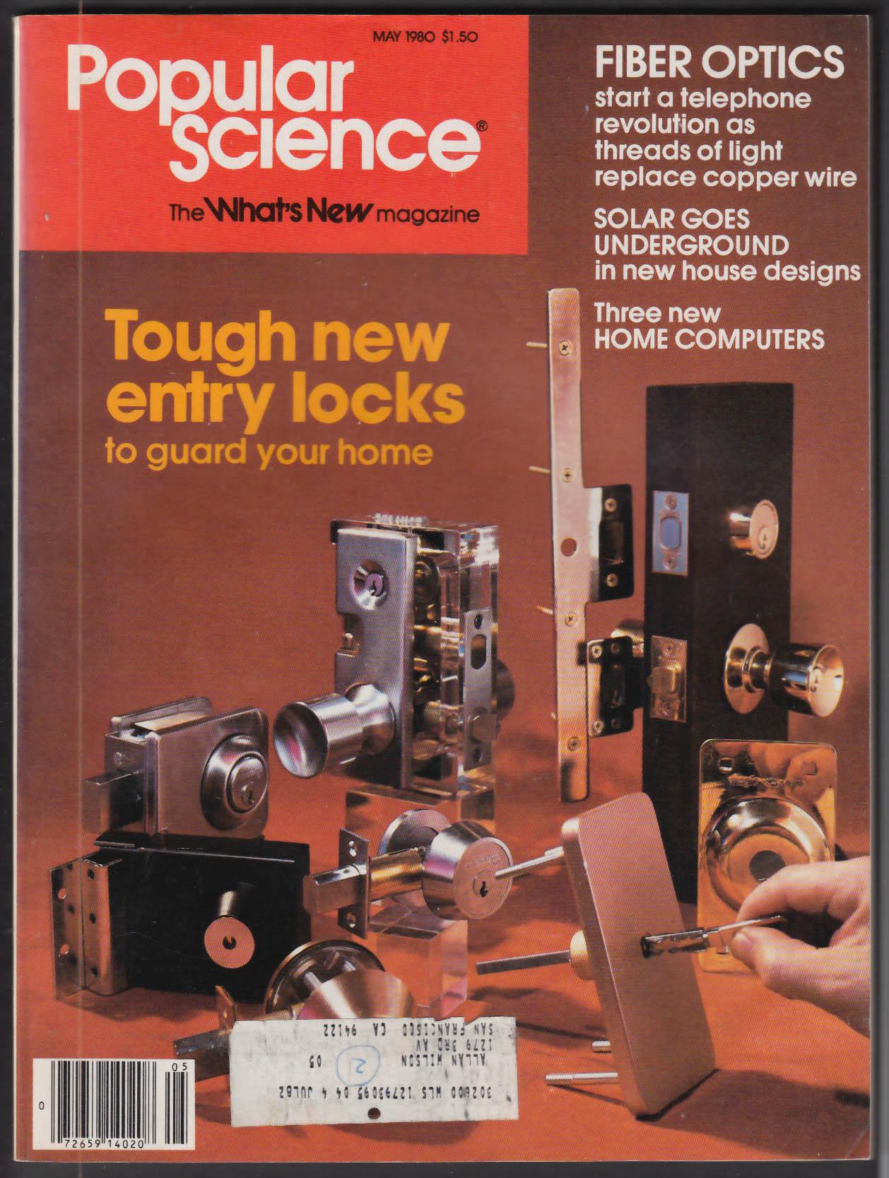 POPULAR SCIENCE Mercedes-Benz Aluminum V8 Solar Power Kuwait Oil 5 1980