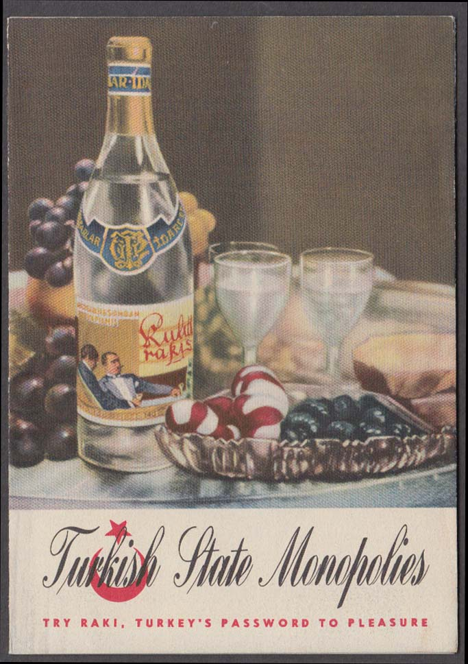 Image for Turkish State Monopolies Wine folder NY World's Fair 1939