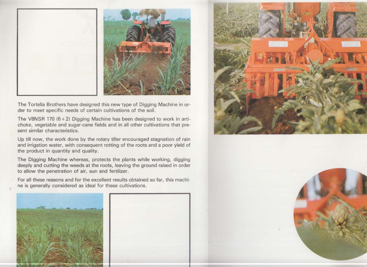 Industria Meccanica Tirtella Farm Tractor sales folder ca 1980s
