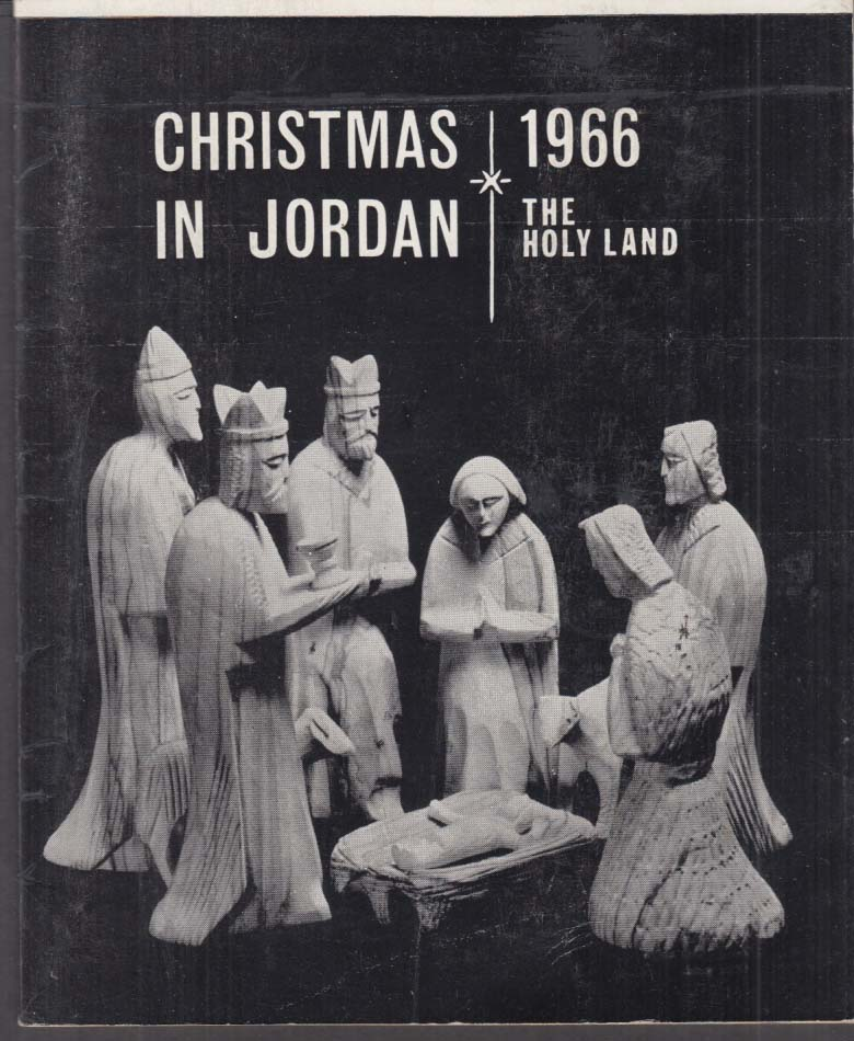 Christmas in Jordan The Holy Land 1966 brochure Jordan Tourism Authority