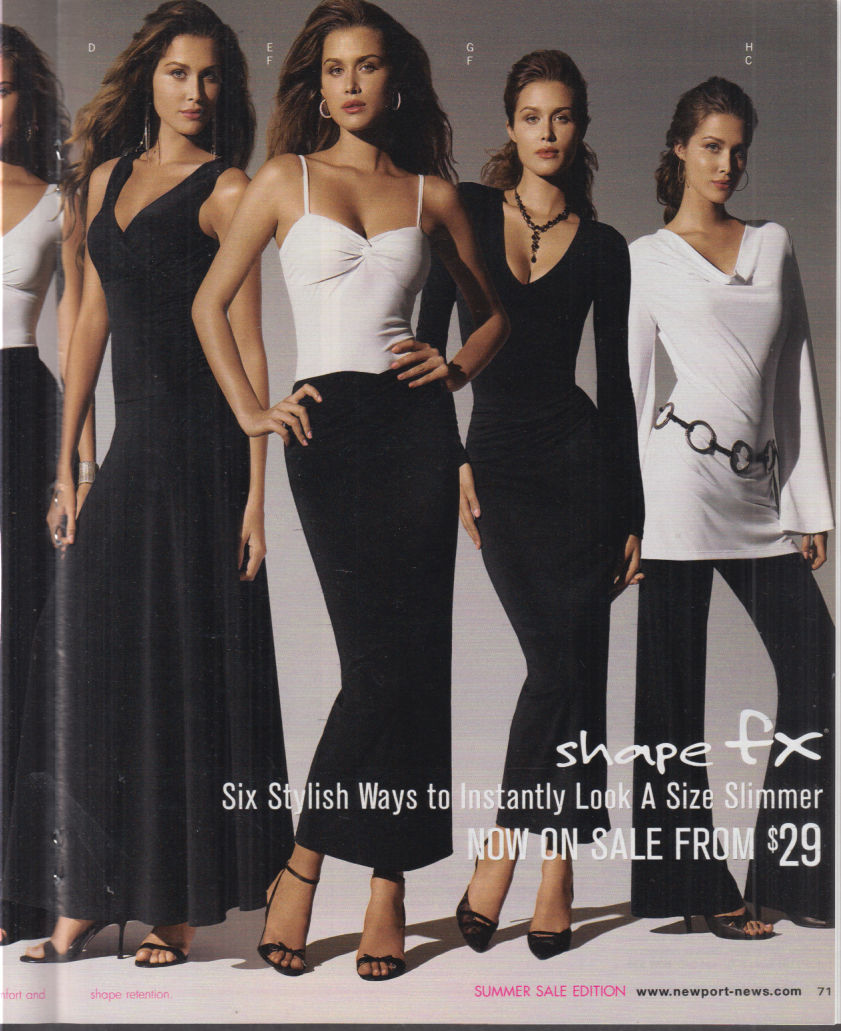 Newport News Women's Fashions Swimsuits & accessories catalog 2006