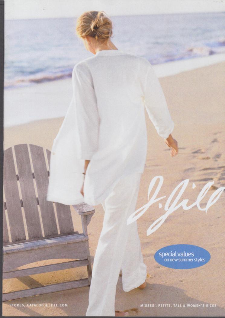 J Jill Misses Petite Tall & Women's Fashions catalog Summer 2 2006 #1