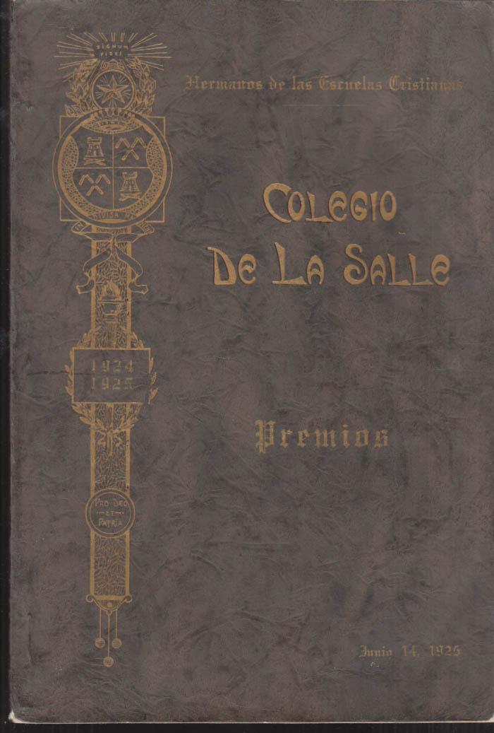 Colegio De La Salle School Yearbook Class of 1925 Havana Cuba