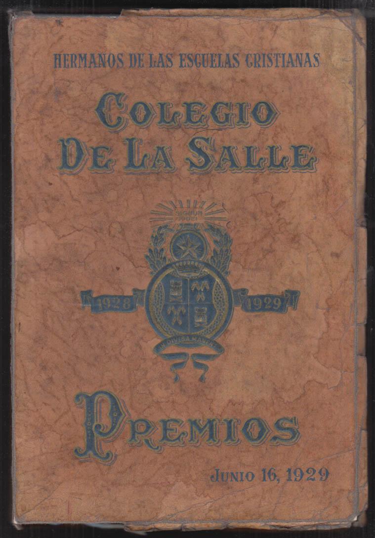 Colegio De La Salle School Yearbook Class of 1929 Havana Cuba