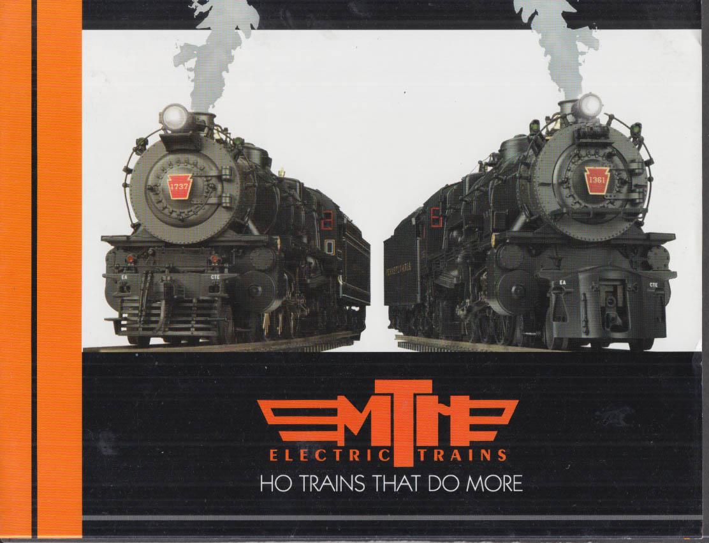 MTH Electric Trains HO Pennsylvania K-4s Pacific Locomotive folder 2004