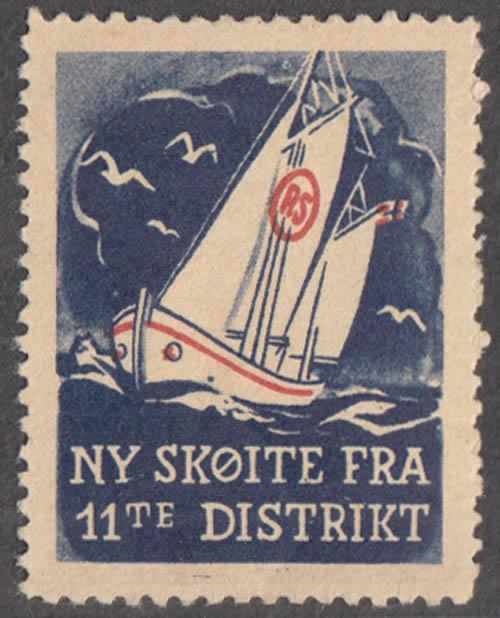 New Skoite from 11th District Norway cinderella Ny Skoite Fra 11te Distrikt