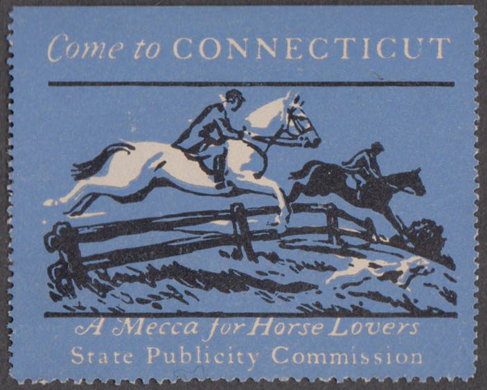 Come to Connecticut cinderella stamp Mecca for Horse Lovers