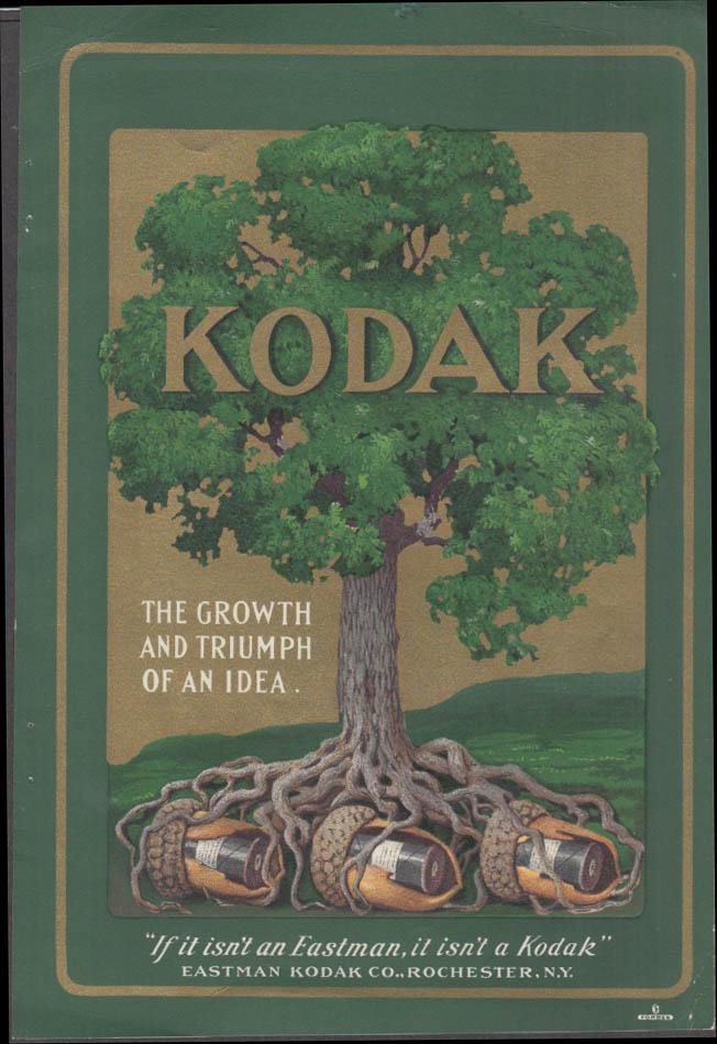 Eastman Kodak Cartridge Kodaks 2-sided ad insert ca 1910