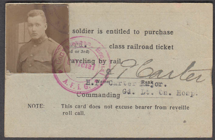 American Forces Germany 1st Conduct Class ID Co F 8th Infantry 1921 w/ photo