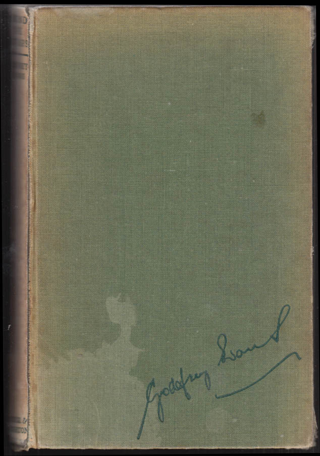 Godfrey Evans Behind the Stumps cricket book SIGNED by author & Len Hutton 1951