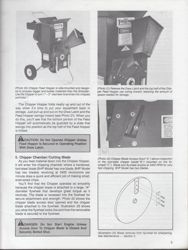 Garden way 8hp 5hp super tomahawk chipper shredders owners garden way 8hp 5hp super tomahawk chipper shredders owners manual 1986 publicscrutiny Gallery
