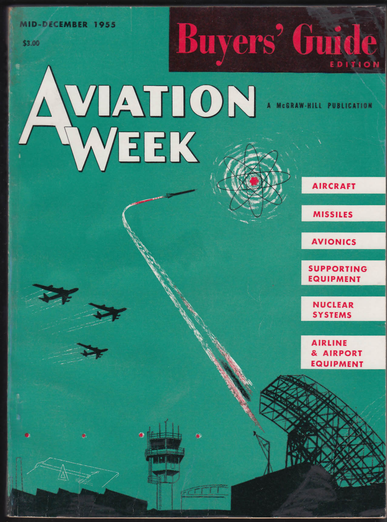 AVIATION WEEK 1956 Buyers' Guide USAF ARDC 12 1955