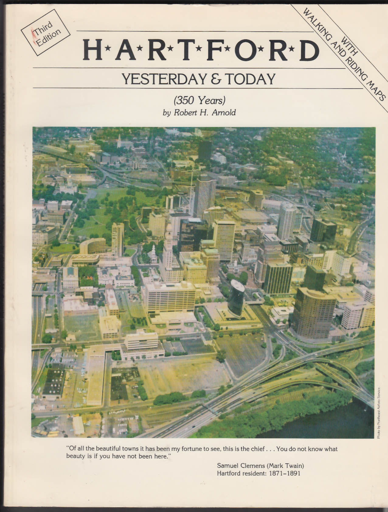 Robert H Arnold: HARTFORD Yesterday & Today 3rd Edition 1989