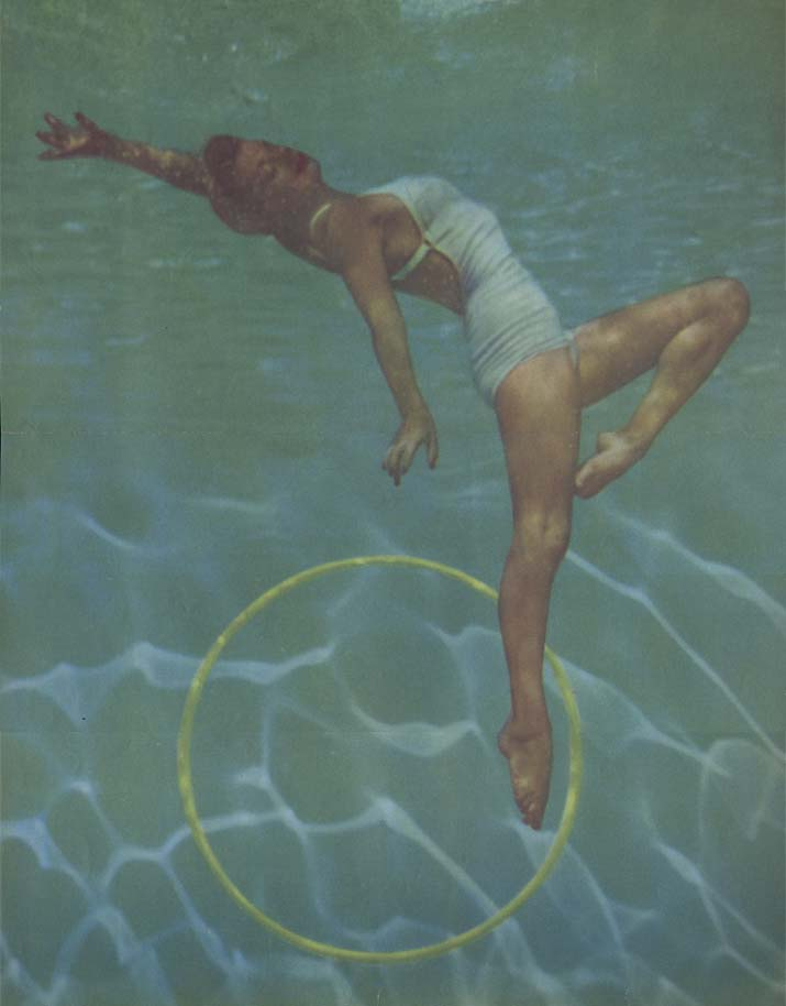Esther Williams underwater Esquire pin-up fold-out September 1952