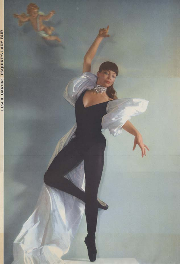 Esquire's Lady Fair - Leslie Caron from February 1954