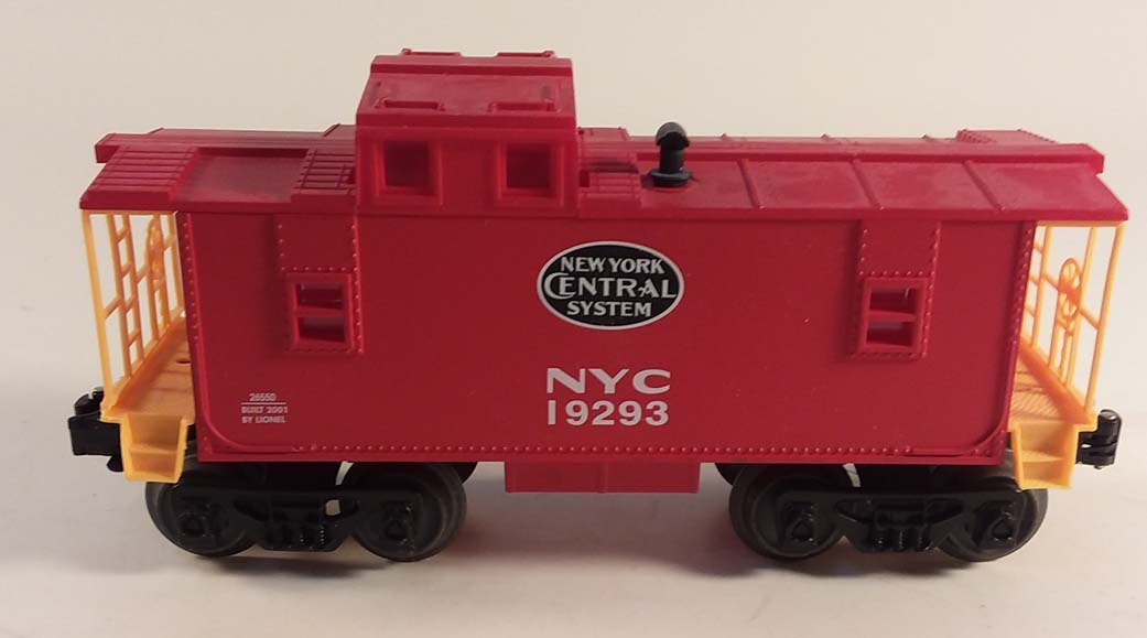 Lionel 26550 New York Central #19293 red caboose 2001