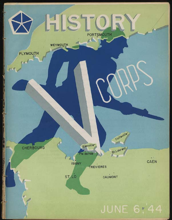 US Army V Corps Operations in the ETO 6 Jan 1942-9 May 1945 book