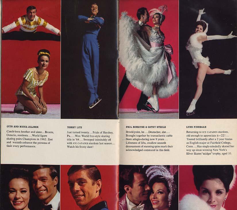 Ice Capades Souvenir Program 1963 Alice in Wonderland Tommy Litz ++