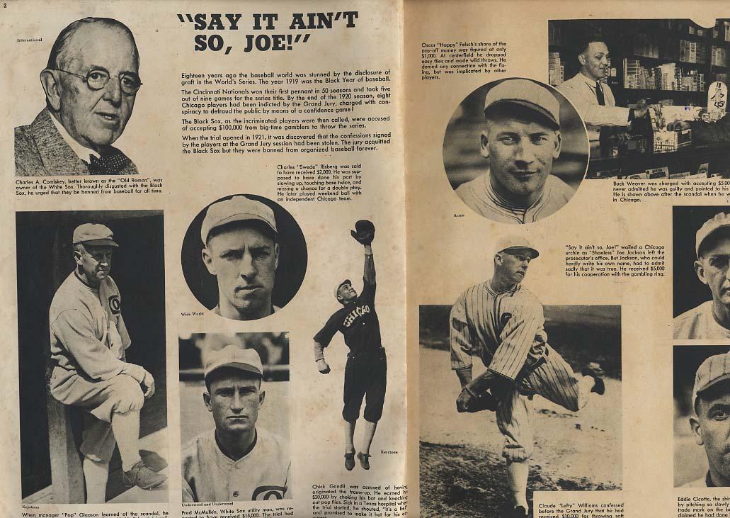 PIC 9 1937 foldboating Black Sox Earl Sande RB Joe Maniaci Jim Thorpe Ringling