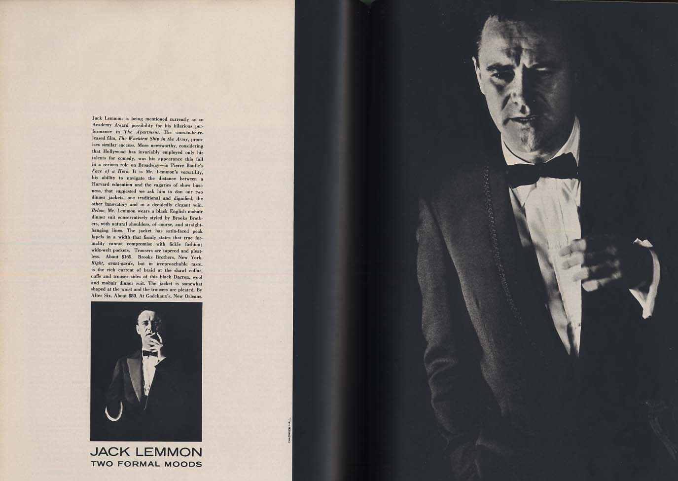 ESQUIRE 12 1960 Tennessee Williams Dinesen Hiss & Cohn Nichols & May Ungerer
