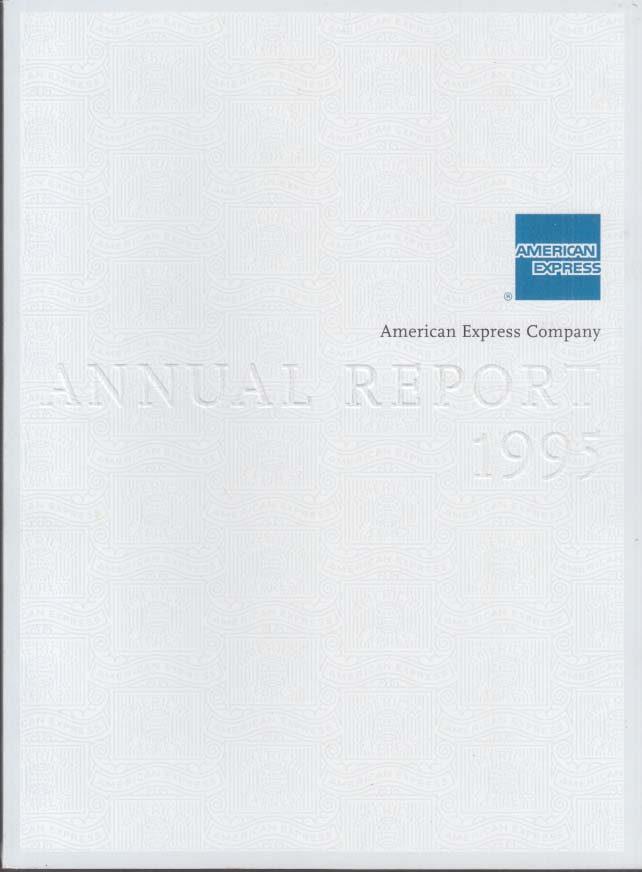 American Express Annual Report 1995