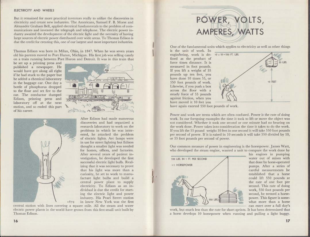 General Motors Electricyt and Wheels informational booklet 1953