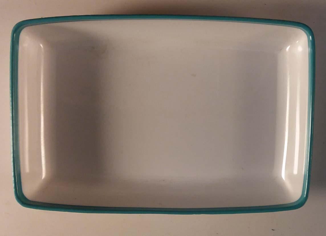 Delta Air Lines serving dish plastic tray 112B ca 1960s