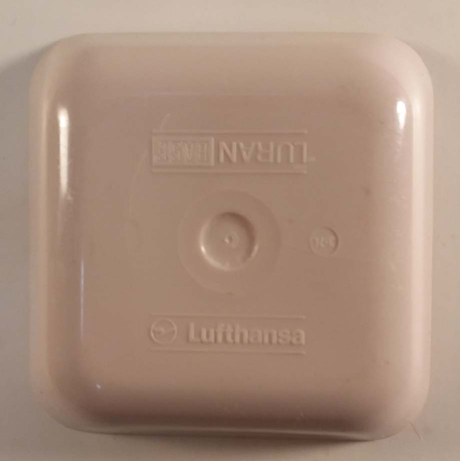 Lufthansa German Airlines plastic serving dish Luran BASF ca 1960s